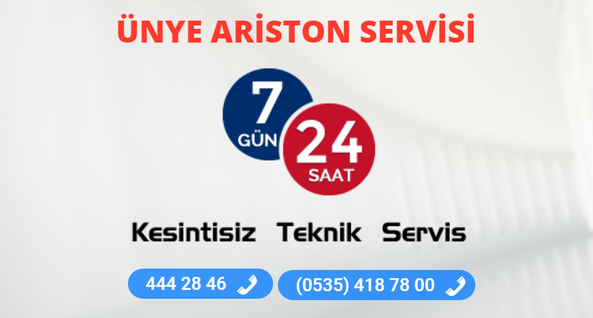ünye ariston servisi